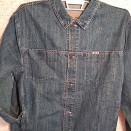 Куртки - Новая мужская джинсовая куртка 34-36р., 0