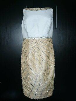Платья - Коктейльное платье с бисером, 0