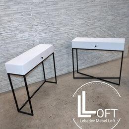 Столы и столики - Туалетный столик, консоль лофт , 0