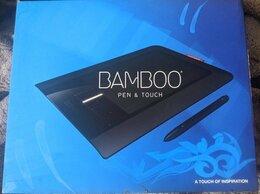 Графические планшеты - Графический планшет Bamboo Pen & Touch (CTH-460), 0
