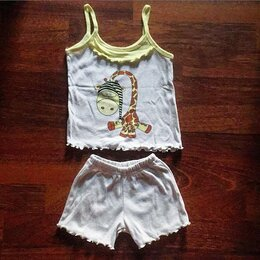 Комплекты и форма - Комплект:майка с шортами на девочку на3-4 года, 0