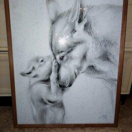 Картины, постеры, гобелены, панно - Волчица, 0