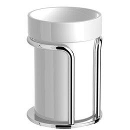 Мыльницы, стаканы и дозаторы - Стакан керамика настольный Lanberger 10913А, 0