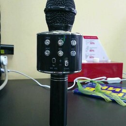 Микрофоны - Микрофон Magic Karaoke Wster WS-858, 0