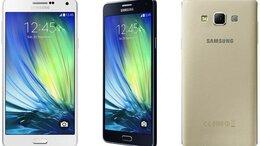 Мобильные телефоны - Samsung Galaxy A7 DUOS (sm-a700fd) Gold, 0