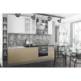 Мебель для кухни - Модульный кухонный гарнитур «Олива» 2100 (кофе с…, 0