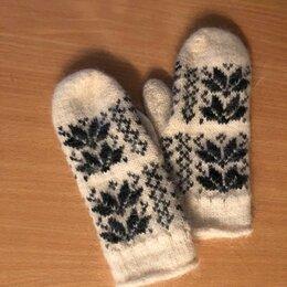Перчатки и варежки - Варежки теплые на девочку, 0