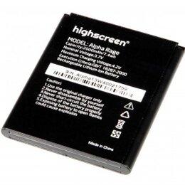 Аккумуляторы - Аккумулятор для телефона Highscreen Alpha Rage, 0