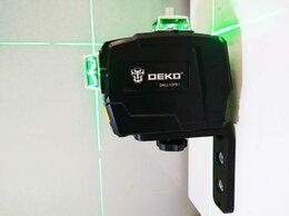 Измерительные инструменты и приборы - Лазерный уровень Deko DKLL112PB1. 3D 360°. Новый, 0