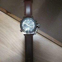 Наручные часы - Часы мужские армейские amst новые села батарея, 0