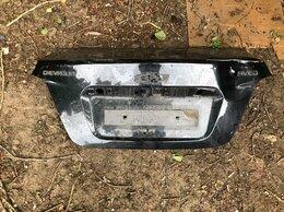 Кузовные запчасти - Крышка багажника Chevrolet Aveo. Чёрная, оригинал, 0