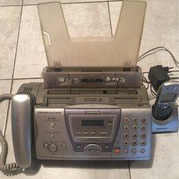 Проводные телефоны - Факсимильный аппарат Panasonic KX-FC243RU, 0
