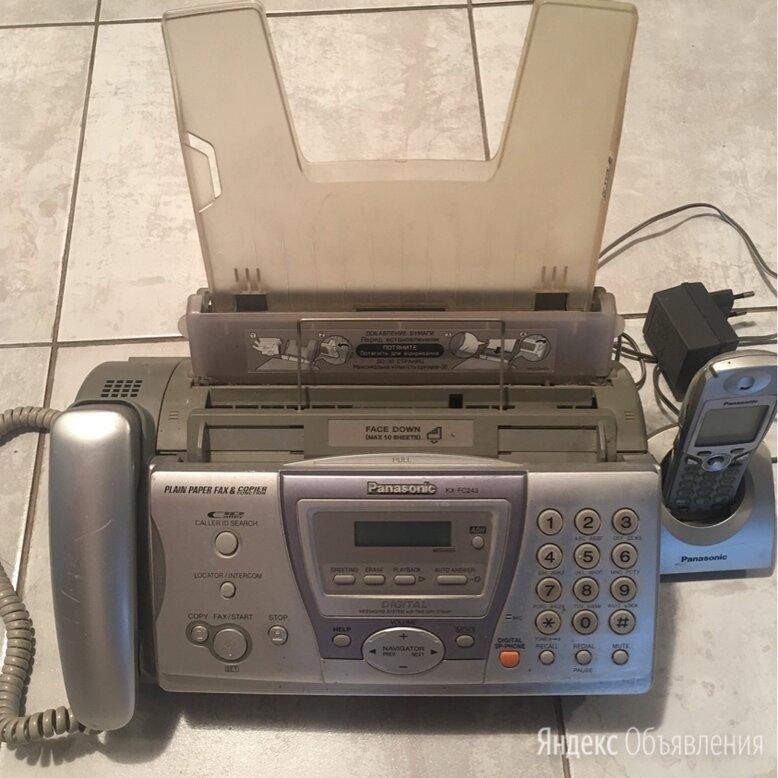 Факсимильный аппарат Panasonic KX-FC243RU по цене 800₽ - Проводные телефоны, фото 0