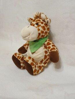 Мягкие игрушки - Мягкая игрушка корова или жираф сувенирная, 0