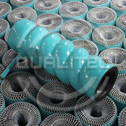 Инструменты для нанесения строительных смесей - Шнековая пара Qualitec D6-3 Twister / D6-3 Slim, 0