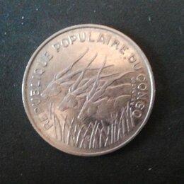 Монеты - Монета Конго, 100 франков, 1975, 0