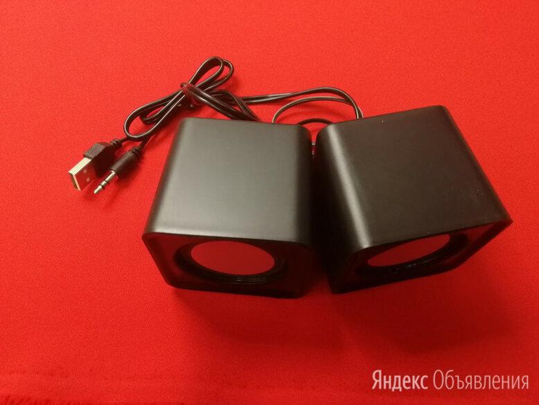 Колонки 2.0 Defender SPK 22 черные по цене 350₽ - Компьютерная акустика, фото 0