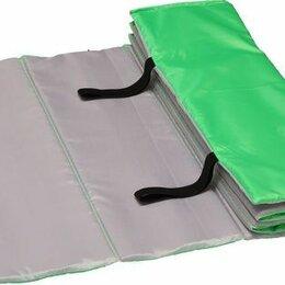 Коврики - Коврик гимнастический детский indigo sm-043 150*50 см салатово-серый, 0