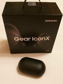 Наушники и Bluetooth-гарнитуры - Беспроводные наушники Samsung Gear IconX 2018, 0
