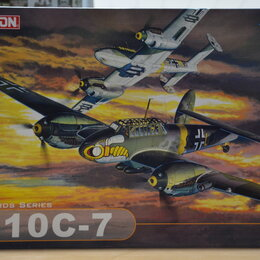 Модели - Сборная модель 1\32 Немецкий самолёт BF-110 C-7., 0