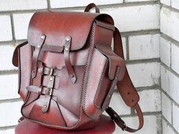Дорожные и спортивные сумки - Кожаный рюкзак (юфть шорно- седельная 2,5мм)…, 0