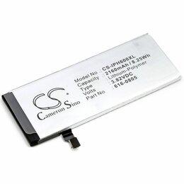 Аккумуляторы - Аккумулятор для Apple iPhone 6 (616-0804) 2160mah, 0