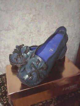 Туфли - Женские туфли из натуральной кожи, 0