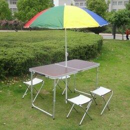Походная мебель - стол туристический + 4 стула, 0