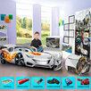Кровать машина детская кровать для мальчика по цене 9990₽ - Кроватки, фото 1