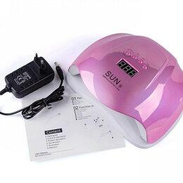 Лампы для сушки - Лампа для маникюра UV LED SUN X 54W розовый метал, 0