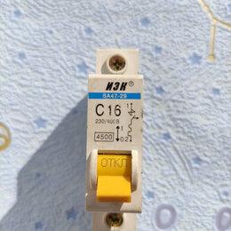 Защитная автоматика - Автоматический выключатель ABB 1-полюсный SH201L C16 (автомат) (2CDS241001R0164), 0