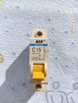 Защитная автоматика - Автоматический выключатель ABB 1-полюсный SH201L…, 0
