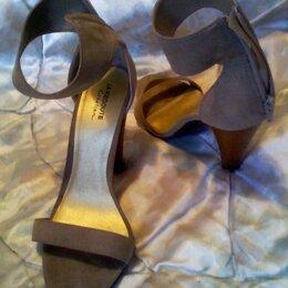 Туфли - Туфли летние женские на высоком каблуке, 0
