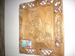 Иконы - Икона Почаевская Богоматерь - резная, 0