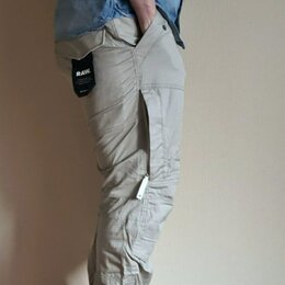 Брюки - G-Star Raw Rackam Tapered Khaki Cargo Pants, 0