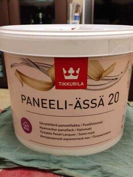 Лаки - Тиккурила Панели Ясся 20 полуматовый (Tikkurila…, 0