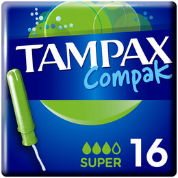 """Прокладки и тампоны - Тампоны Tampax """"Compak Super"""", 16шт. (ПОД ЗАКАЗ), 0"""