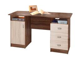 Компьютерные и письменные столы - Стол письменный 2-х тумбовый (Олимп), 0