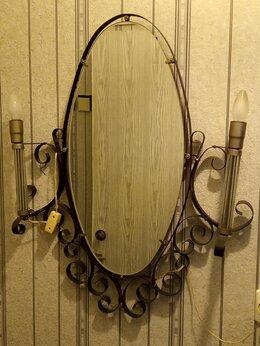 Настенно-потолочные светильники - Светильник с зеркалом на стену, 0