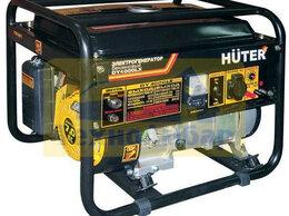 Электрогенераторы и станции - Портативный бензогенератор HUTER DY4000LX, 0