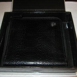 Кошельки - Кошель кожаный чёрный Carlo Pazolini подарочный, 0