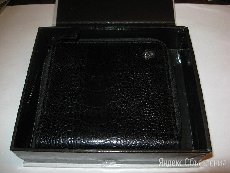 Кошель кожаный чёрный Carlo Pazolini подарочный по цене 3500₽ - Кошельки, фото 0