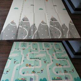 Развивающие коврики - Складной детский коврик двусторонний 200*180*1, 0