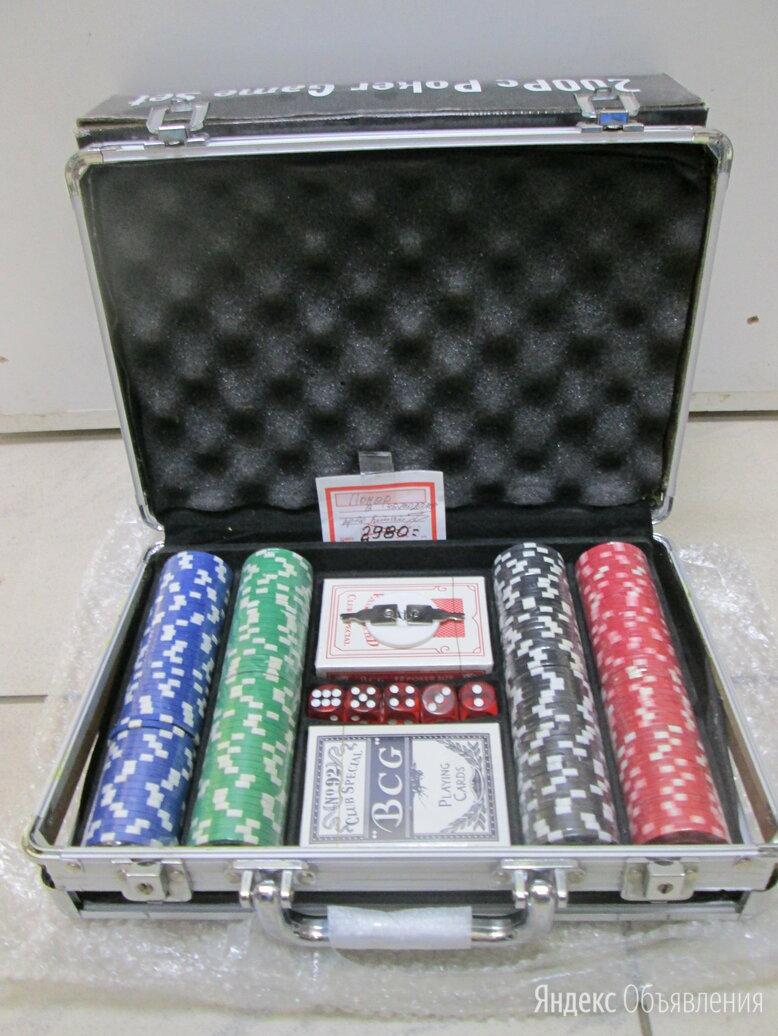 Покер в чемодане.  по цене 2980₽ - Настольные игры, фото 0