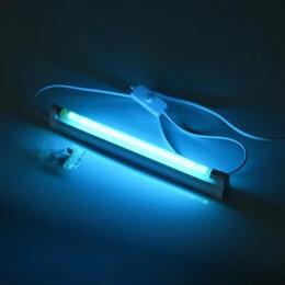 Приборы и аксессуары - Бактерицидная лампа уф светильник T5 8 вт 20 м2, 0