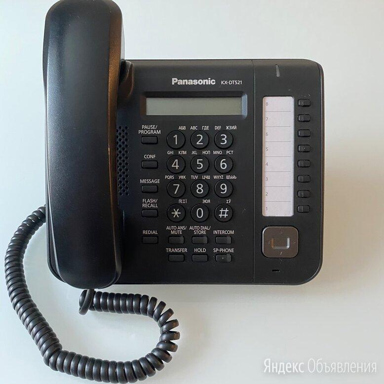 Panasonic DT521 - Цифровой системный телефон. Черный, в наличии по цене 2000₽ - Системные телефоны, фото 0