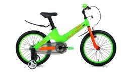 Велосипеды - Детский велосипед FORWARD Cosmo 18 зеленый (2020), 0