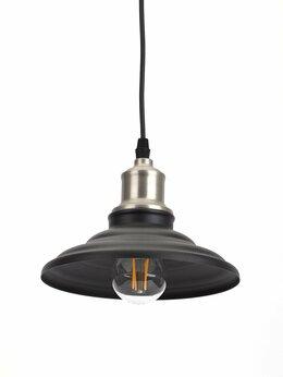 Интерьерная подсветка - Подвесной светильник ЭРА PL4 BK/BN, 0