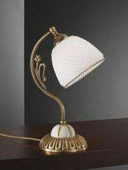 Настольные лампы и светильники - Настольная лампа Reccagni Angelo P 8606 P, 0
