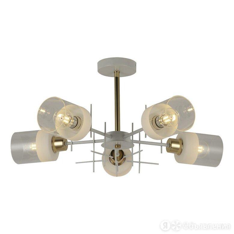 Потолочная люстра Toplight Chloe TL1253D-05WG по цене 5250₽ - Люстры и потолочные светильники, фото 0
